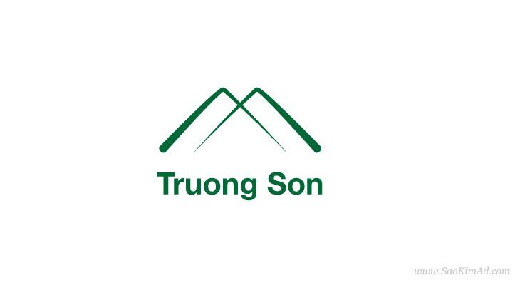 Thiết kế logo cho Xây lắp Trường Sơn tại Nam Định