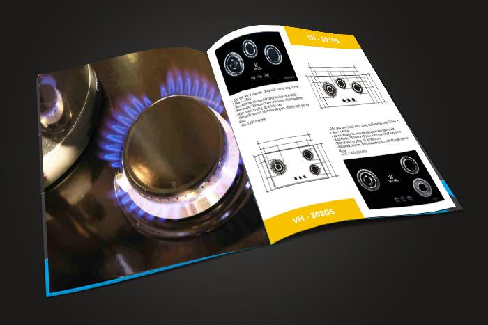 Thiết kế hồ sơ năng lực công ty Thép Việt Hà (Vietha steel) tại Hà Nội