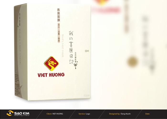 Thiết kế logo Bánh đậu xanh Việt Hương tại Hải Dương