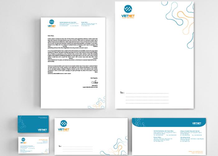 Làm mới hệ thống nhận diện thương hiệu Việt Nét tại TP HCM
