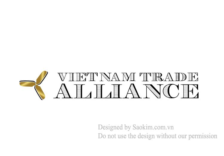 Thiết kế logo và nhận diện thương hiệu Vietnam Trade Alliance tại TP HCM