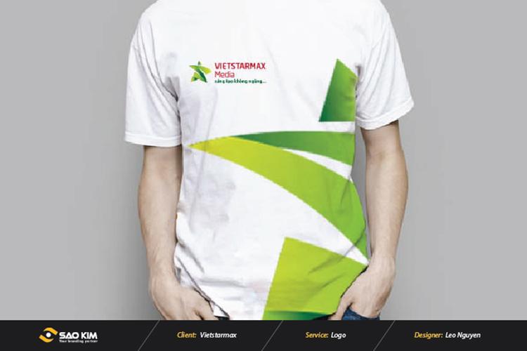 Thiết kế logo Công ty CP Quảng cáo và Truyền thông Sao Việt tại Hà Nội, TP HCM