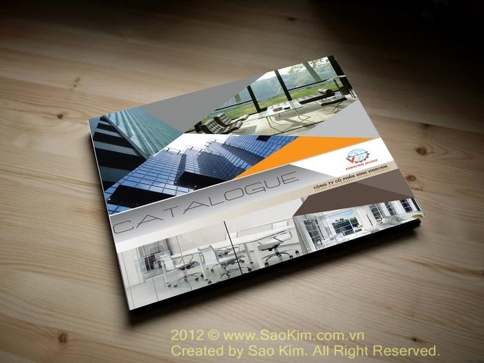 Thiết kế ấn phẩm quảng cáo công ty VINACAM tại TP HCM