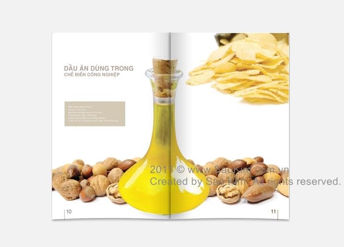 Thiết kế profile Vina Commodities tại TP HCM