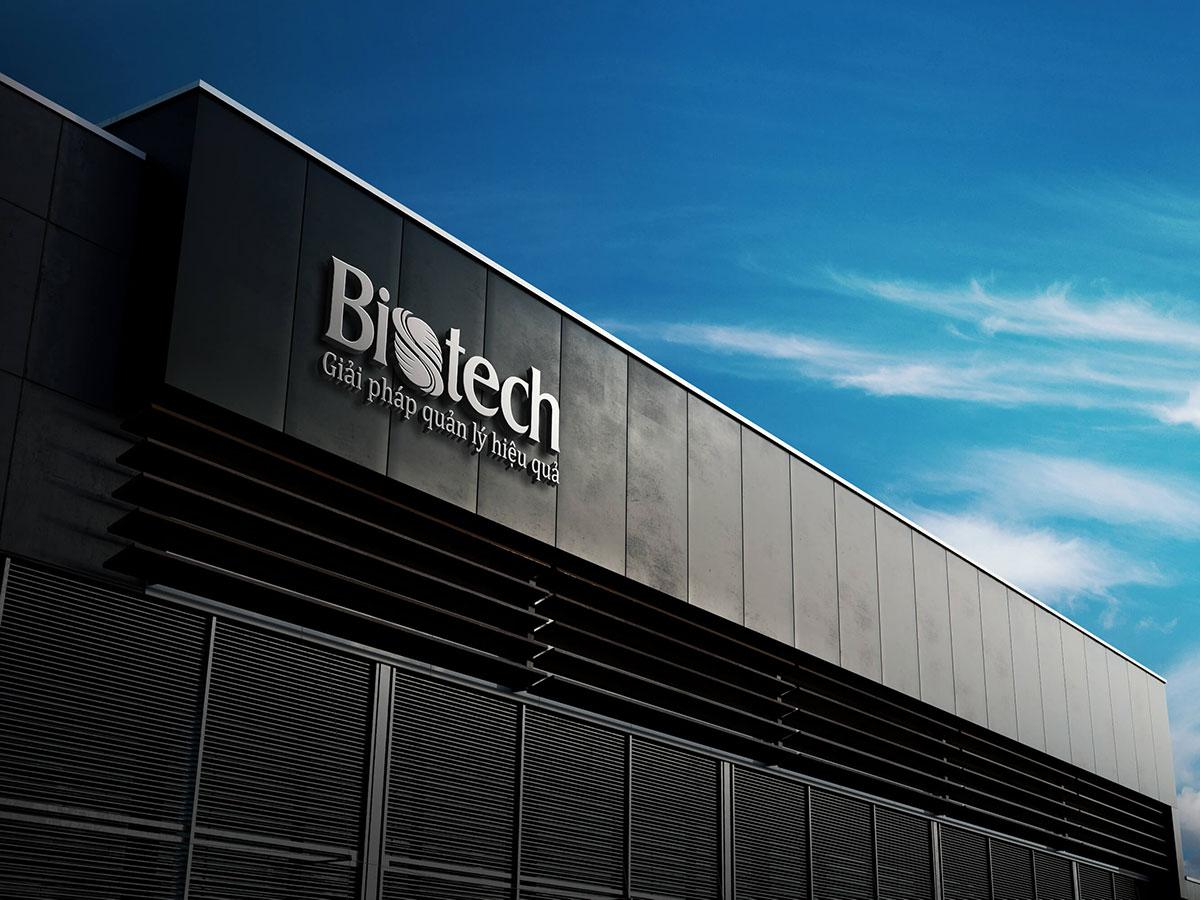 Thiết kế logo và nhận diện thương hiệu Bistech Việt Nam tại Hà Nội