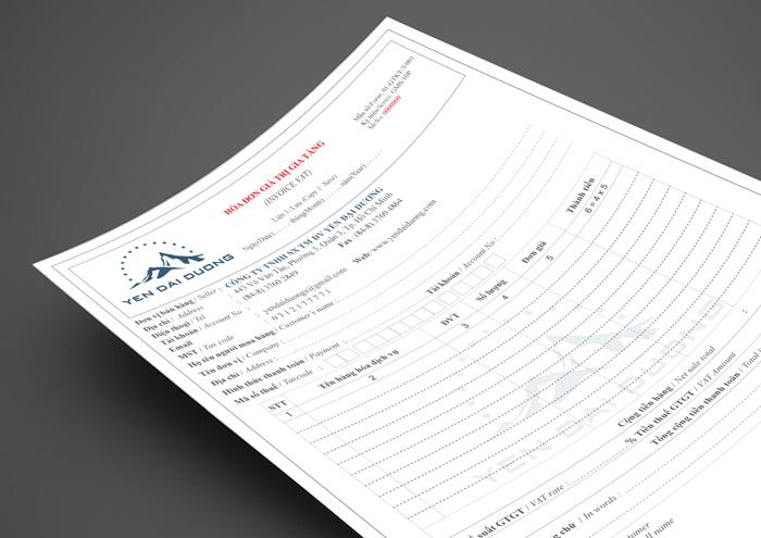 Thiết kế nhận diện thương hiệu công ty TNHH SX TM DV Yến Đại Dương tại TP HCM