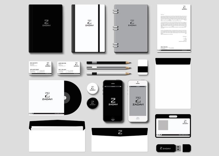Thiết kế nhận diện thương hiệu Zadavi tại TP HCM