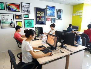 Văn phòng cá tính của SAO KIM