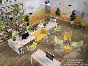 Sao Kim phát triển mở rộng văn phòng tại TP Hồ Chí Minh - ảnh từ SaoKim Branding