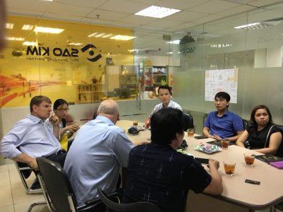 Sao Kim tham gia hợp tác giáo dục với các trường đào tạo thiết kế