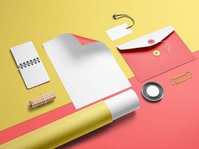 Thiết kế stationery – bộ nhận diện thương hiệu cơ bản