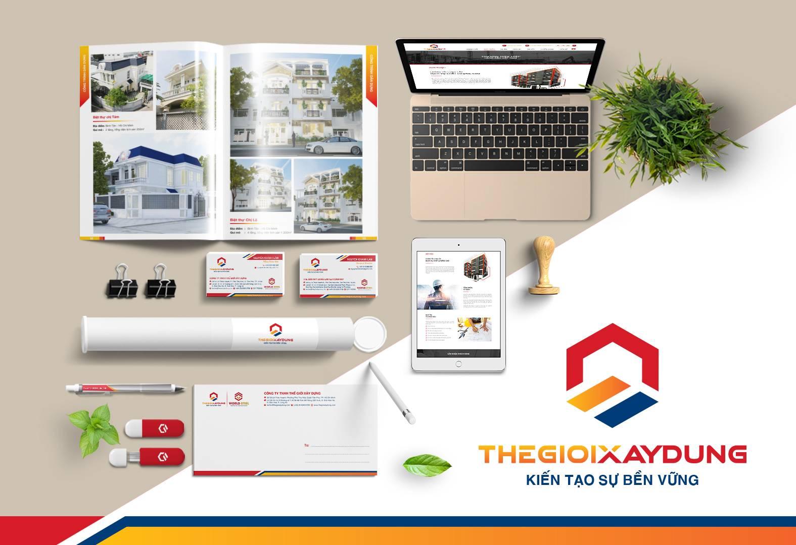 Thiết kế nhận diện thương hiệu văn phòng (Office Pack)