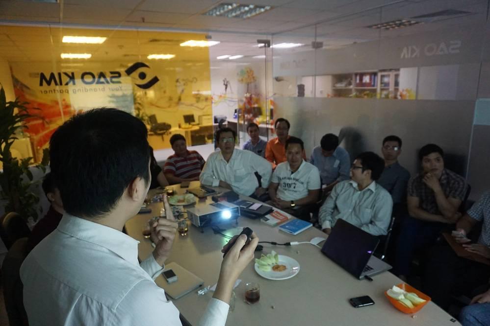 Bàn tròn CEO tại VP Sao Kim - ảnh từ SaoKim Branding