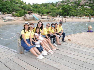Sao Kim HCM nghỉ mát hè 2017 tại đảo Bình Ba