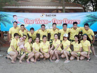 Sao Kim Hà Nội Team Building 2017 tại Eureka Linh Trường Resort