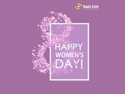 Happy Women's Day 8/3!!!