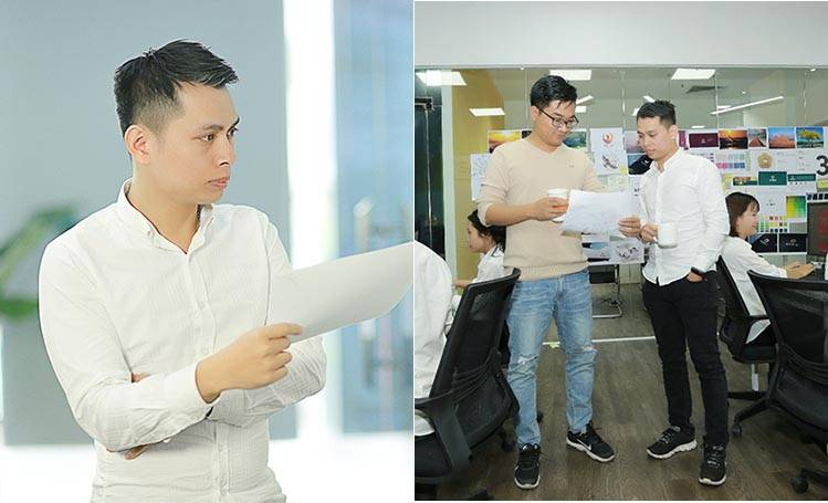 Chuyên viên thiết kế của Sao Kim Nguyễn Hoàng