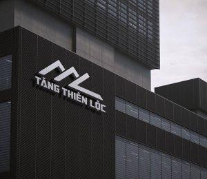 Phối cảnh logo của Tăng Thiên Lộc