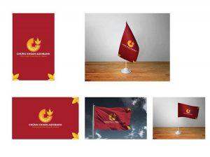 Mẫu thiết kế ấn phẩm truyền thông thương hiệu của Agriseco.