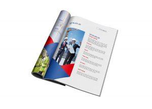 Thiết kế profile của công ty xây dựng MHDI10.