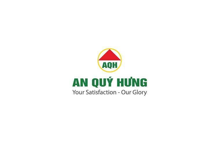 Logo An Quý Hưng do Sao Kim thiết kế.