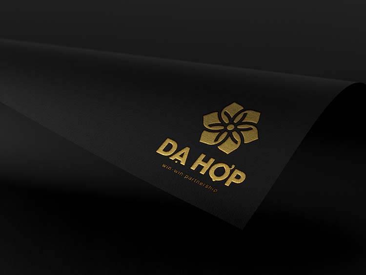 Thiết kế thương hiệu Dạ Hợp do Sao Kim thiết kế.
