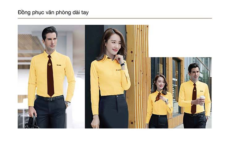 Thiết kế đồng phục dài tay công ty Dạ Hợp.