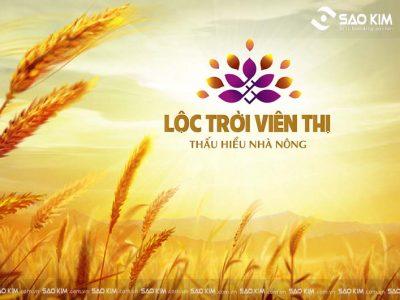Lộc Trời Viên Thị khởi đầu viên mãn với mẫu thiết kế logo đẹp mắt