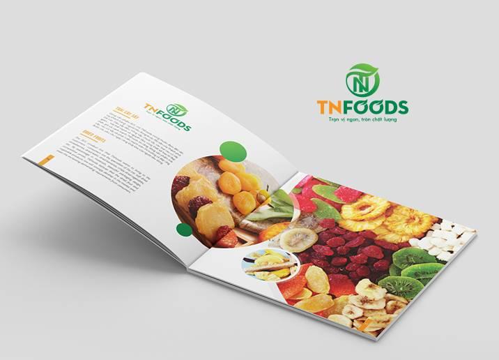 Thiết kế brochure sản phẩm