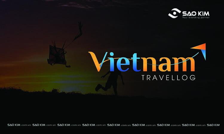 Thiết kế nhận diện thương hiệu Vietnam Travellog bởi Sao Kim.