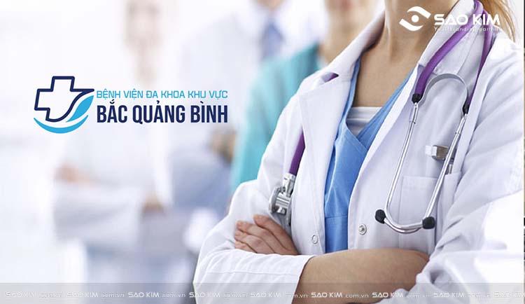 Thiết kế logo, nhận diện thương hiệu bệnh viện Bắc Quảng Bình bởi Sao Kim.