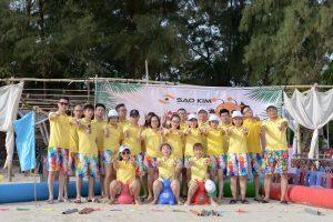 Gia đình Sao Kim phá đảo xứ sở Cô Tô - ảnh từ SaoKim Branding