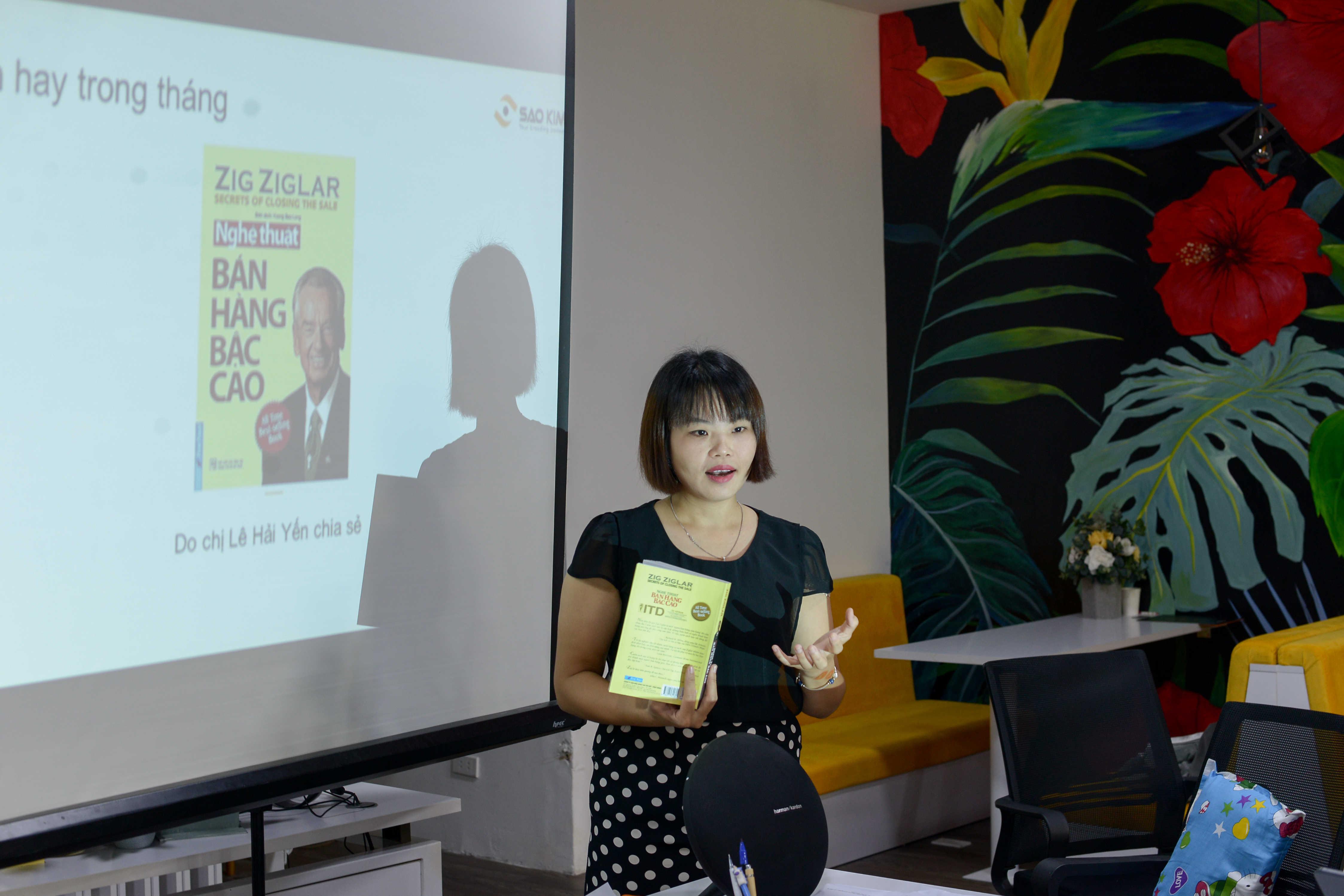 Mô hình cuộc họp bứt phá cảm hứng và đổi mới cá nhân hóa tăng 200% hiệu quả chỉ có tại Sao Kim - ảnh từ SaoKim Branding