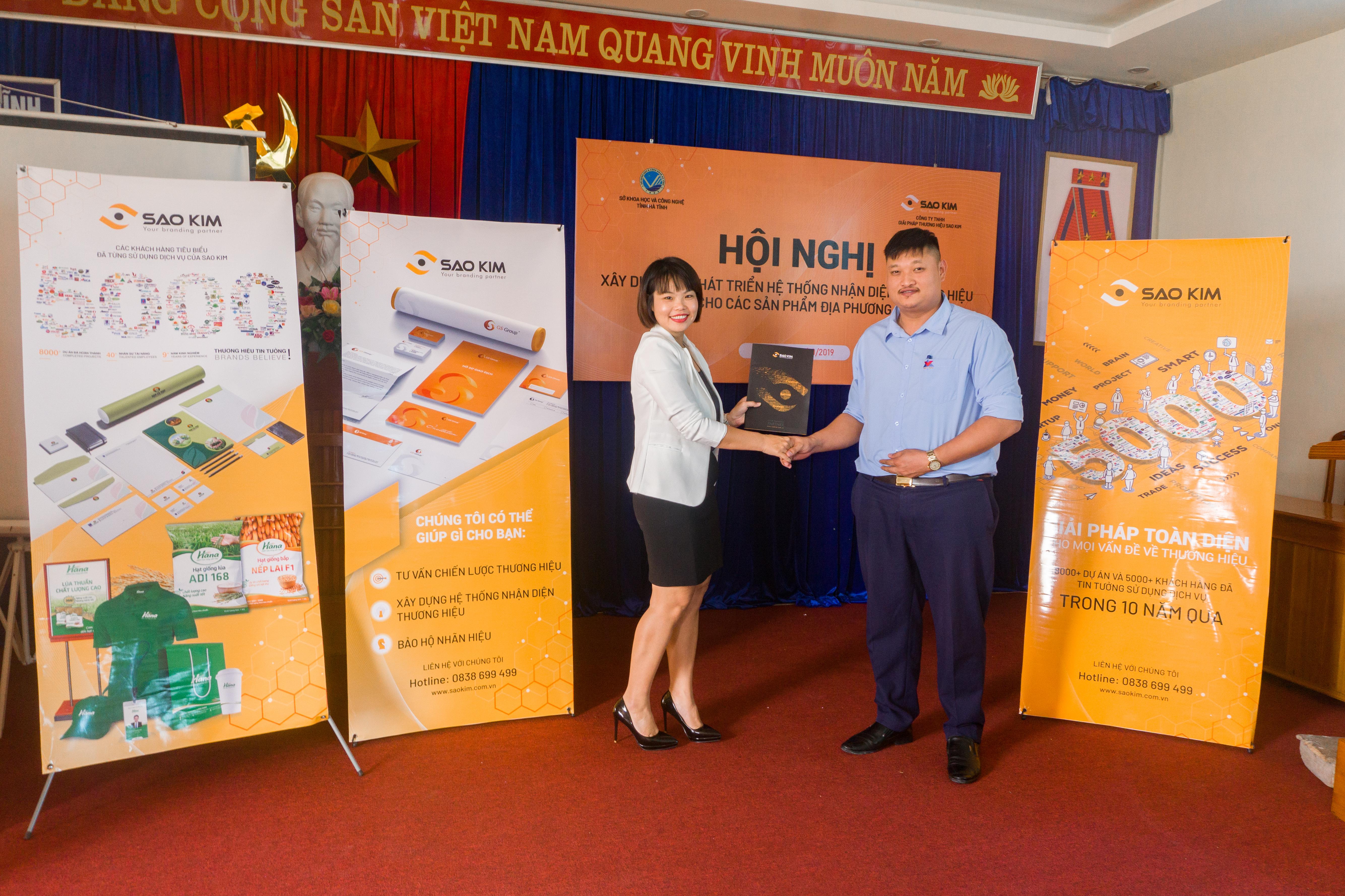 Hội nghị tập huấn: Xây dựng và Phát triển Thương hiệu cho các sản phẩm địa phương - ảnh từ SaoKim Branding