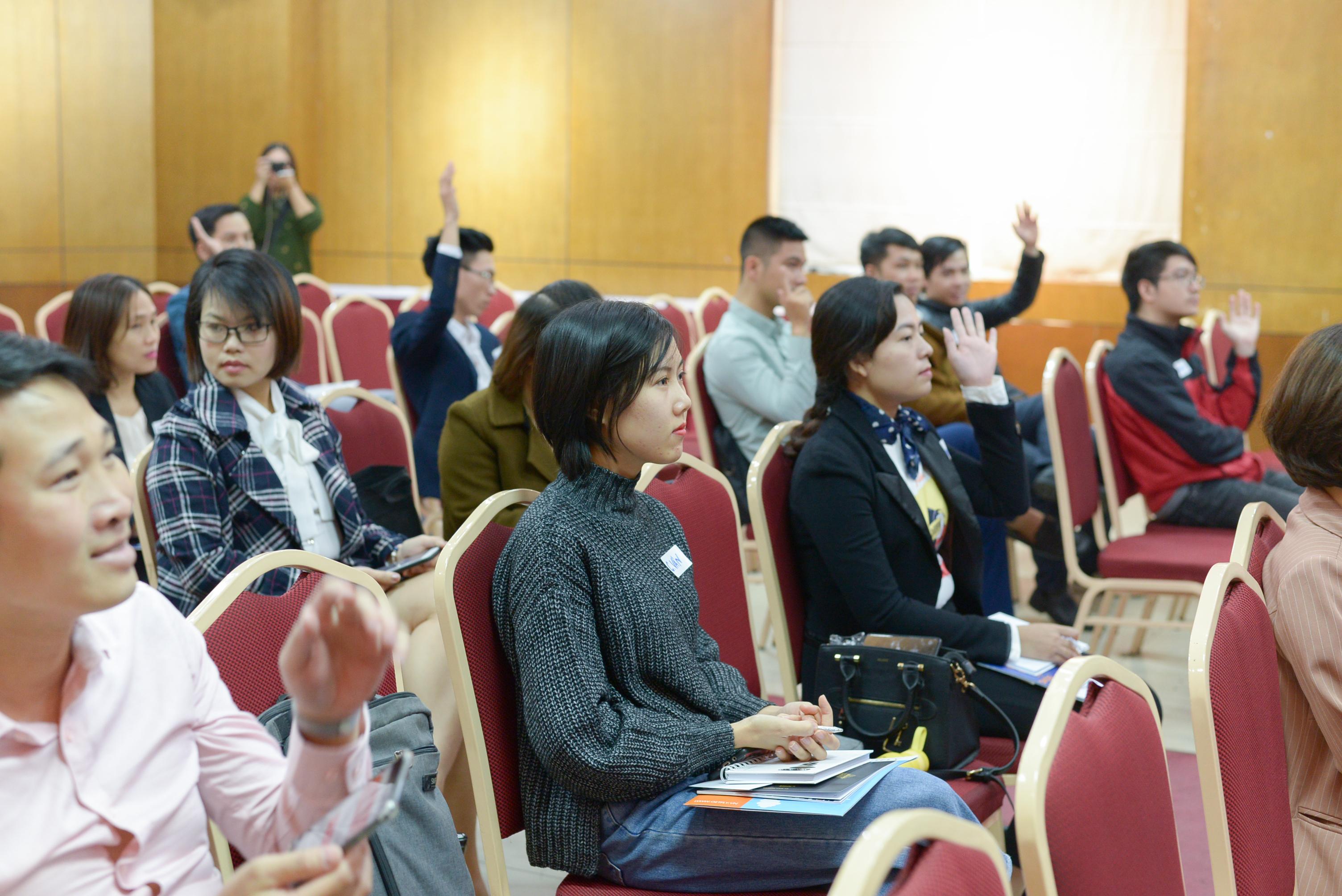 """Sao Kim tổ chức hội thảo """"Xây dựng thương hiệu trong thời kỳ chuyển đổi số"""" thành công tốt đẹp - ảnh từ SaoKim Branding"""
