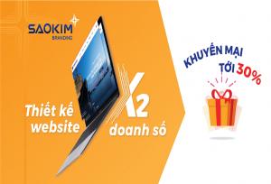Chương trình ưu đãi tháng 6: Ưu đãi 30% gói quà tặng Digital Branding - ảnh từ SaoKim Branding