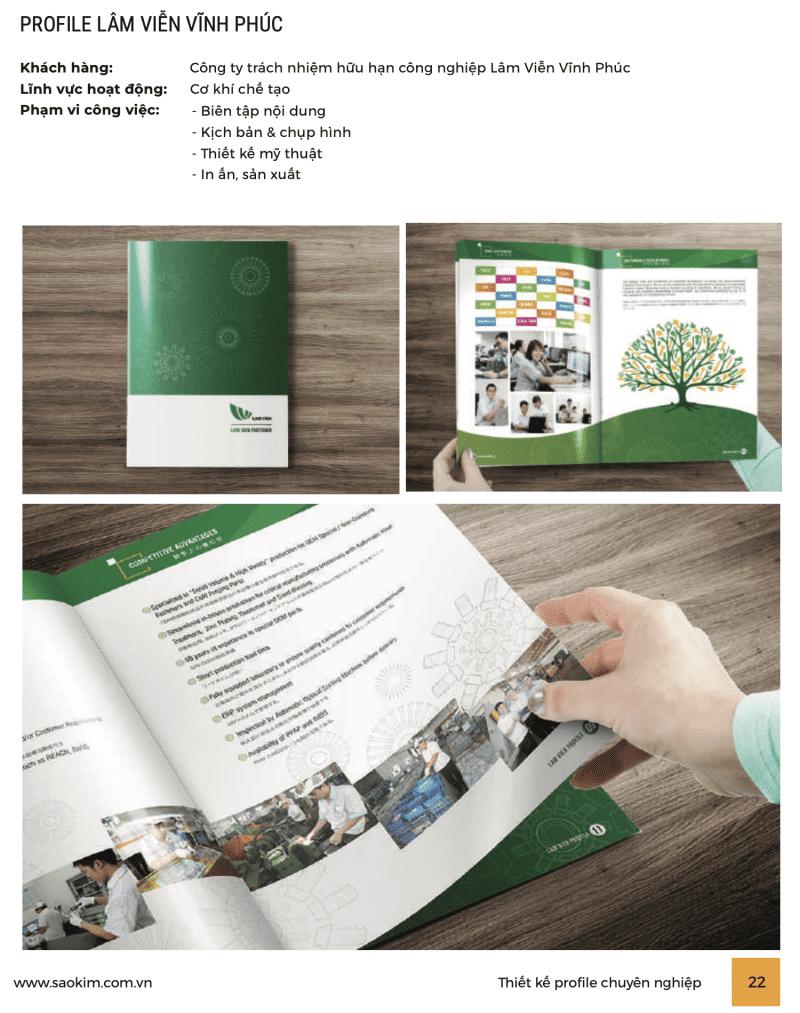 Thiết kế profile công ty, tất cả những gì bạn cần biết - ảnh từ SaoKim Branding