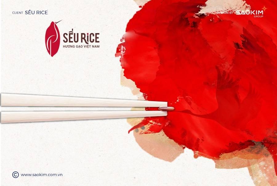 [Saokim.com.vn] Dự án Gạo Sếu Rice nghiên cứu thương hiệu và thiết kế bởi Sao Kim Branding