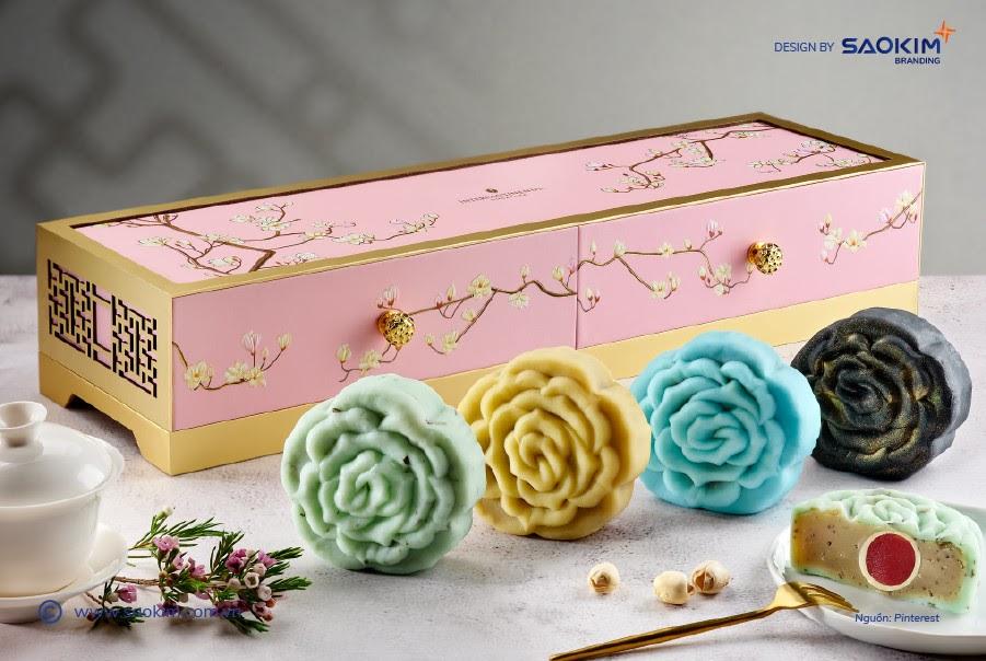Hộp quà tặng trung thu bày tỏ tình cảm ấm áp và lời chúc viên mãn đến khách hàng