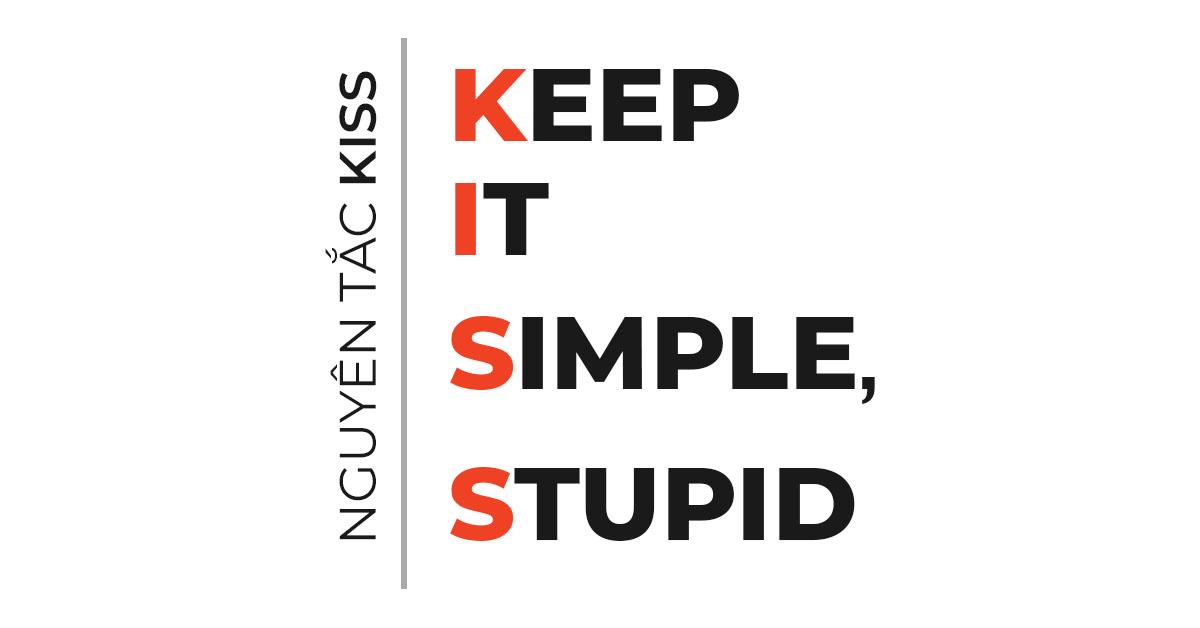 Cách thiêt kế Logo: Áp dụng Nguyên tắc thiết kế KISS trong thiết kế logo