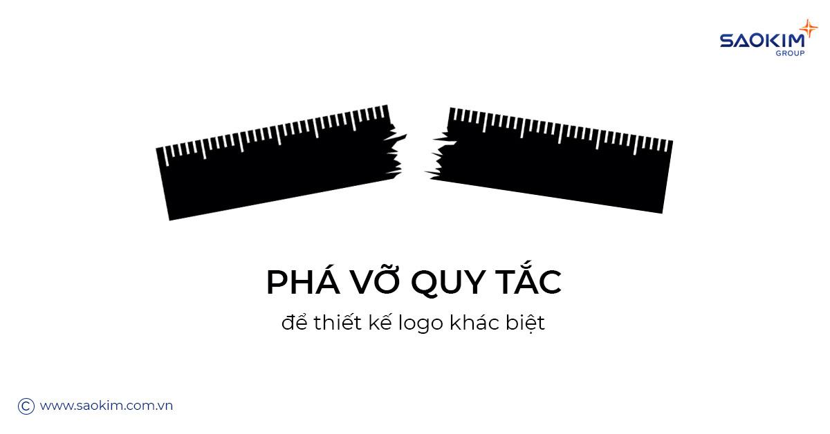 Cách Thiết kế logo khác biệt: Phá vỡ quy tắc
