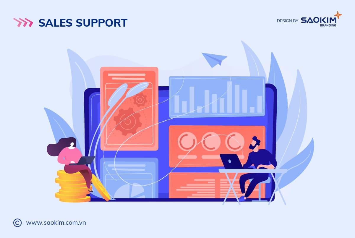 Chiến lược xây dựng thương hiệu cho Startup: D - Sales Support