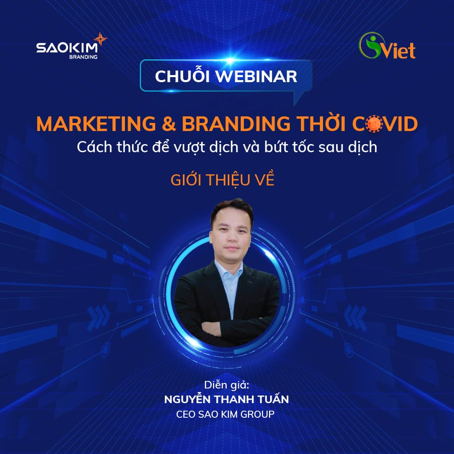 Webinar: Marketing & Branding thời COVID - ảnh từ SaoKim Branding