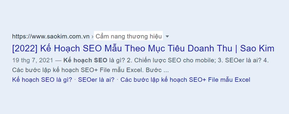 Tiêu chí viết bài chuẩn SEO: URL thân thiện