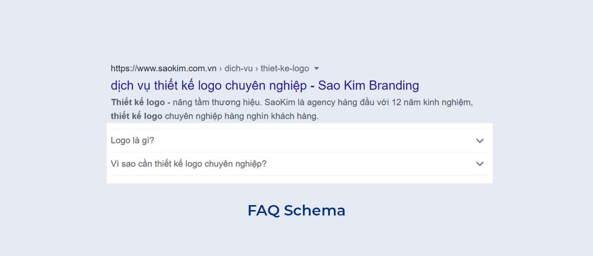 Sử dụng FAQ Schema để tối ưu CTR