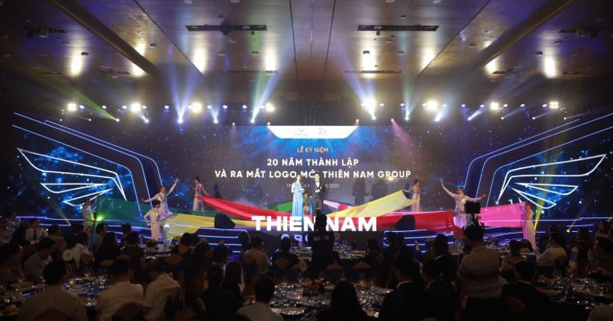 Lễ kỷ niệm 20 năm và ra mắt logo mới của Thiên Nam Group
